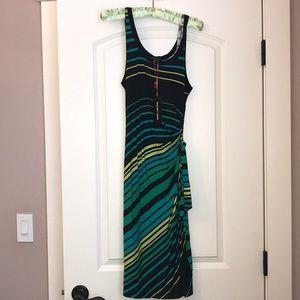 Flowy tropical dress